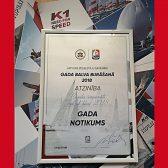 Hohe nationale Ehrung in Riga für das Event der TOPCAT WM 2018